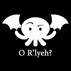 Cthulhu OR'lyeh Vinyl Decal orly by Geekazoid on Etsy