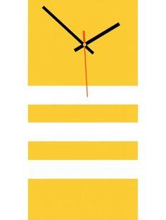 Elegáns 3D fali NATZ falióra, szín: sárga, fehér Clock, Wall, Home Decor, Fine Watches, Wall Clocks, Stylish Watches, Luxury, Jewlery, Watch