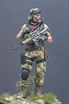 US Special Forces - Knight Models, 75mm