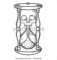 Image result for non traditional hourglass tattoos