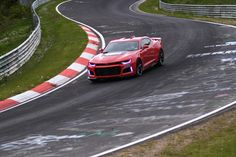 The new generation ZL-1 Camaro. Chevrolet today unleashed a time-attack video of the 2017 Camaro ZL1 lapping the Nürburgring Nordschleife in a blistering 7:29.60. The new ZL1's lap time is 11.67 seconds quicker than the previous ZL1's fast lap.