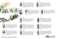 Trollbeads Year of the Dragon--mine is Year of the Rabbit