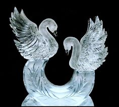 Offers sculpting services for weddings, corporate events, and special occasions. Includes an image gallery, FAQ section about ice carving, and description of services. Snow Sculptures, Sculpture Art, Ice Sculpture Wedding, Art Pictures, Photos, Funny Pictures, Ice Luge, Ice Bars, Snow Art