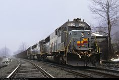 RailPictures.Net Photo: SBD 8500 Seaboard System EMD SD50 at Big Stone Gap, Virginia by Ron Flanary