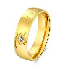 (China (continente)) O anel de casamento novo quente da cor do ouro da forma dos homens de cristal de Áustria do anel de ouro acessórios SMTR215