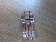 """Suela 1/4"""" transparente para el perfecto patchwork, consiguela en www.maquinasdecoserdori.com, y te enseñan a usarla"""