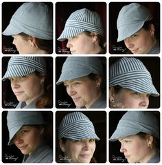 Ricochet and Away!: Welder's Hat:Free pattern!