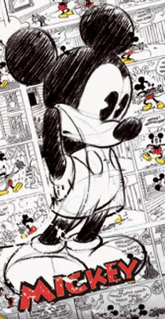 Encuentra tu Funda Nórdica Mickey Mouse Comic en @Basic Estil