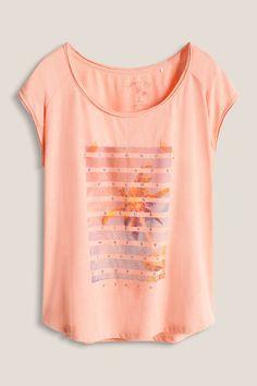 edc : T-shirt imprimé à bords bruts à acheter sur la Boutique en ligne