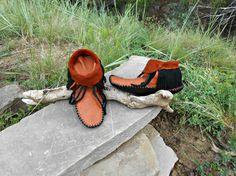 Handmade Fringe Moccasins Inca Style Mocc by FaeMoonWolfDesigns