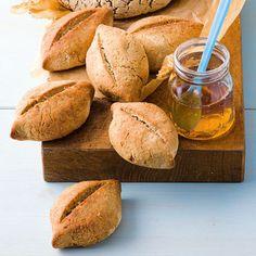 Buchweizenbrötchen mit Amaranth (glutenfrei)