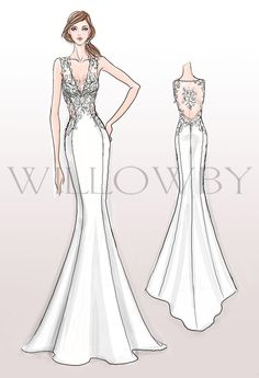 43 New Ideas Fashion Design Sketches Body Wedding Dresses 43 New Ideas Fashion Design Sketches Braut Fashion Drawing Dresses, Fashion Illustration Dresses, Drawing Fashion, Fashion Design Drawings, Fashion Sketches, Wedding Dress Drawings, Illustration Mode, Illustrations, Pink Prom Dresses