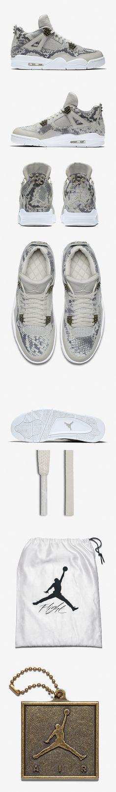"Air Jordan 4 Retro Premium ""Snakeskin"" - EU Kicks: Sneaker Magazine"