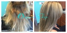 Blonde Highlights with Golden Base