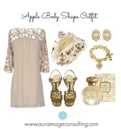 Do you have an #AppleBody Shape? Get some outfit ideas that flatter you! Go to http://auraimageconsulting.com/2014/06/apple-body-shape/ #StylistToronto #ImageConsultant