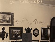 """... """"The Downward Spiral"""" In The Infamous Tate/LaBianca Murder House"""