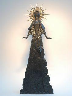 Court of the Sun King. Philip Jackson sculpture.