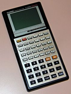 Vintage Casio Model fx-7000G Scientific Calculator, LCD Dot Matrix Display, Made In Japan, World's First Graphing Calculator Available To The Public, Circa 1985 - 1988.