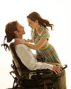 """""""NEW: emilia clarke and sam claflin as louisa clark and will traynor in me before you Couples Âgés, Movie Couples, Sam Claflin, Emilia Clarke, Movies And Series, Movies And Tv Shows, Top Movies, Great Movies, Image Film"""