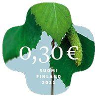 €0.30 Koivunlehti-postimerkki SAA TULLA VAIKKA MITEN MONTA!