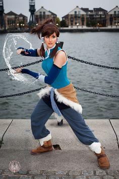 The Legend of Korra - Waterbending by faramon.deviantart.com on @deviantART