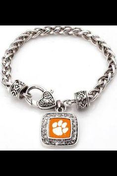 Clemson bracelet