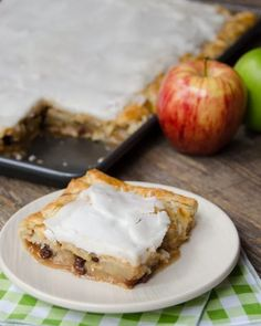 French Apple Slab Pie   Blue Jean Chef - Meredith Laurence Chef Recipes, Apple Recipes, Dessert Recipes, Apple Desserts, Gourmet Desserts, Pastry Recipes, Tart Recipes, Plated Desserts, Sweet Recipes