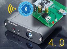 CSR8630 Bluetooth 4.0 HIFI Audio Receiver Board HIFI Wireless Stereo Sound Module + Cover car