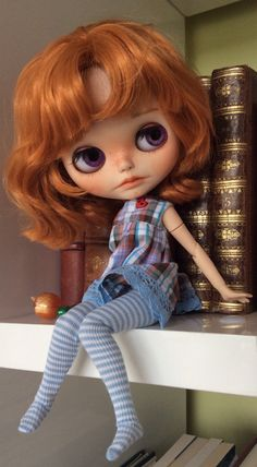 Custom Blythe doll by BlythedeFrance on Etsy