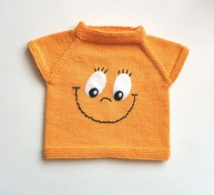 Baby Boy Knitting Patterns, Knitting For Kids, Hand Knitting, Crochet Baby Cardigan, Knitted Baby, Very Cute Baby, Baby Girl Sweaters, Baby Pullover, Baby Vest
