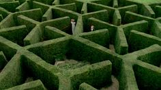 "Maze in the movie ""Miss Austen regrets"", actually at Chenies manor in Buckinghamshire."