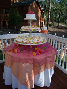 Large Cup Cake Stand