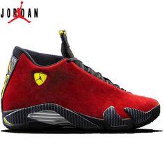 best loved aee47 45b71 Authentic 487471-070 Air Jordan 14 Retro Black Vibrant Yellow-White,Jordan