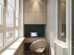 Холостяцкая квартира, Viktoria  Zhiryakova, Лоджия/Балкон, Дизайн интерьеров Formo.ua
