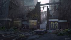 One way gates to the Dark Zone _ The Division, Daniel Matthews on ArtStation at…