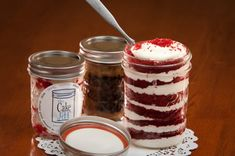 Cake Jars...I like it!