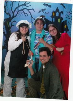 Clue Family Group Costume... Coolest Halloween Costume Contest