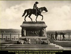 Dick King statue Durban