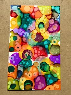 Bonnie Kittelson - Playing around with alcohol ink and yupo paper. I think I'm…