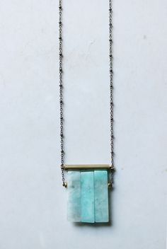 Amazonite necklace g