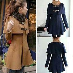 .q bonito abrigo yo quiero uno.