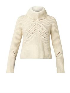 Beautiful shaping on this  Cece roll-neck sweater | Rag & Bone | MATCHESFASHION.COM