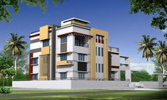#3DDesign #Walkthroughs Have a Look At Mr.Santosh Home Elevation  📞 +91-040-64544555, +91-9963803333 📧 Email: info@wallsasia.com
