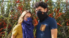Air-Filtering Scarves : scarf filter
