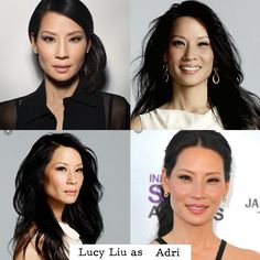 Umm ok so I'm really tired so I'm just going to say Lucy Liu is my new first choice for Adri.