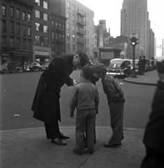 U.S. New York City, 1940s // Esther Bubley