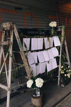 Свадьба в стиле «индустриальный шик». Полиграфия