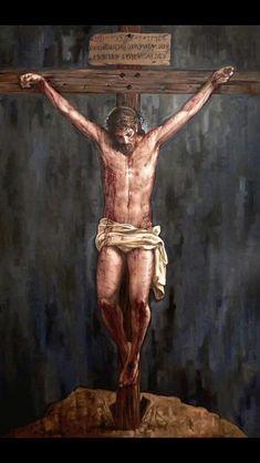 """""""Qué dulce es ponerse delante del crucifijo... Quedarse simplemente bajo la mirada llena de amor del Señor"""". - Papa Francisco-"""