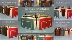 Record Player, Blue Ivory, Teak, Chrome, Retro, Collection, Vintage, Design