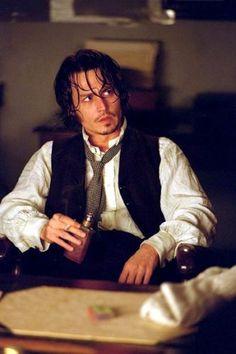 From Hell - Johnny Depp.